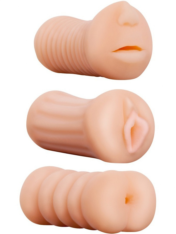 Nanma - XXX To-Go, 3 in 1 Masturbator