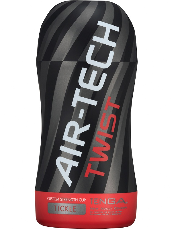 Tenga: Air-Tech Twist, Custom Strength Cup, Tickle