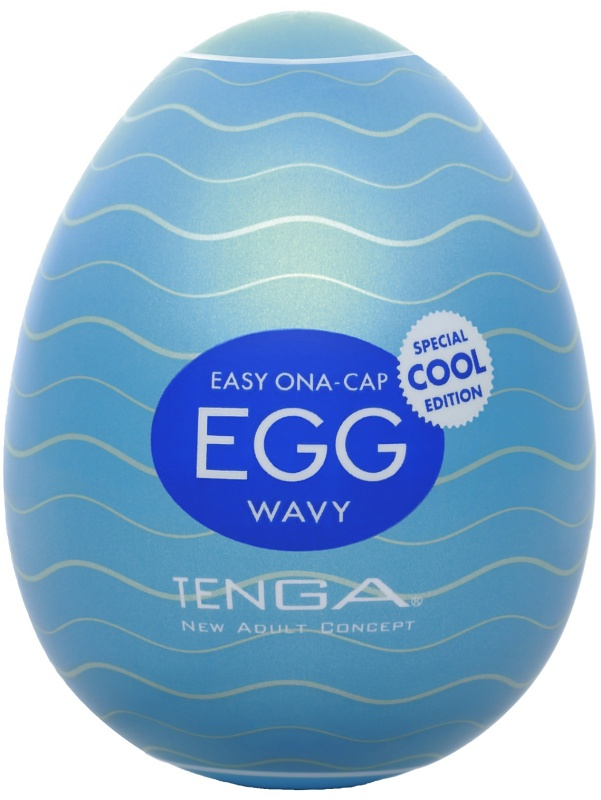 Tenga Egg: Wavy, Cool Edition, Runkägg